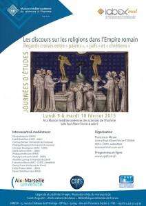 Journées d'études Les discours sur les religions dans l'Empire romain