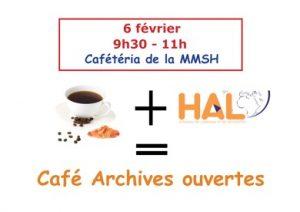 6/02/2017 Café Archive ouverte